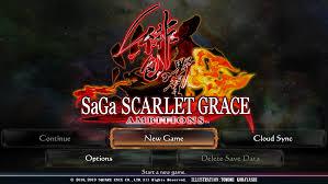 SaGa Scarlet Grace: Ambitions เปิดวางจำหน่ายแล้ว