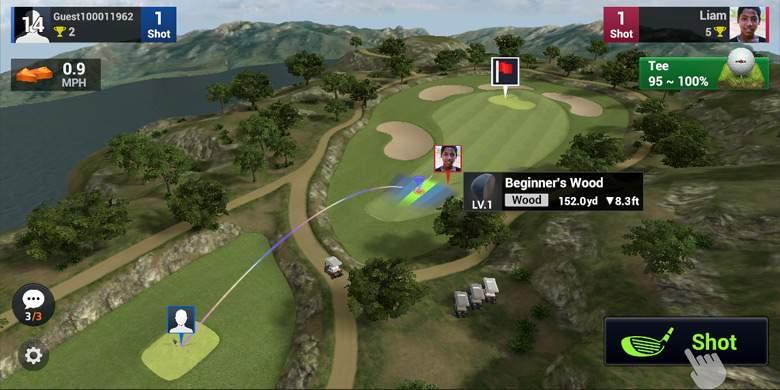 Golf King - World Tour เกมกอล์ฟภาพสวยสมจริงน่าลอง