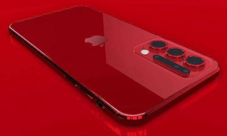 iPhone 12 Pro สีแดงสวยสด