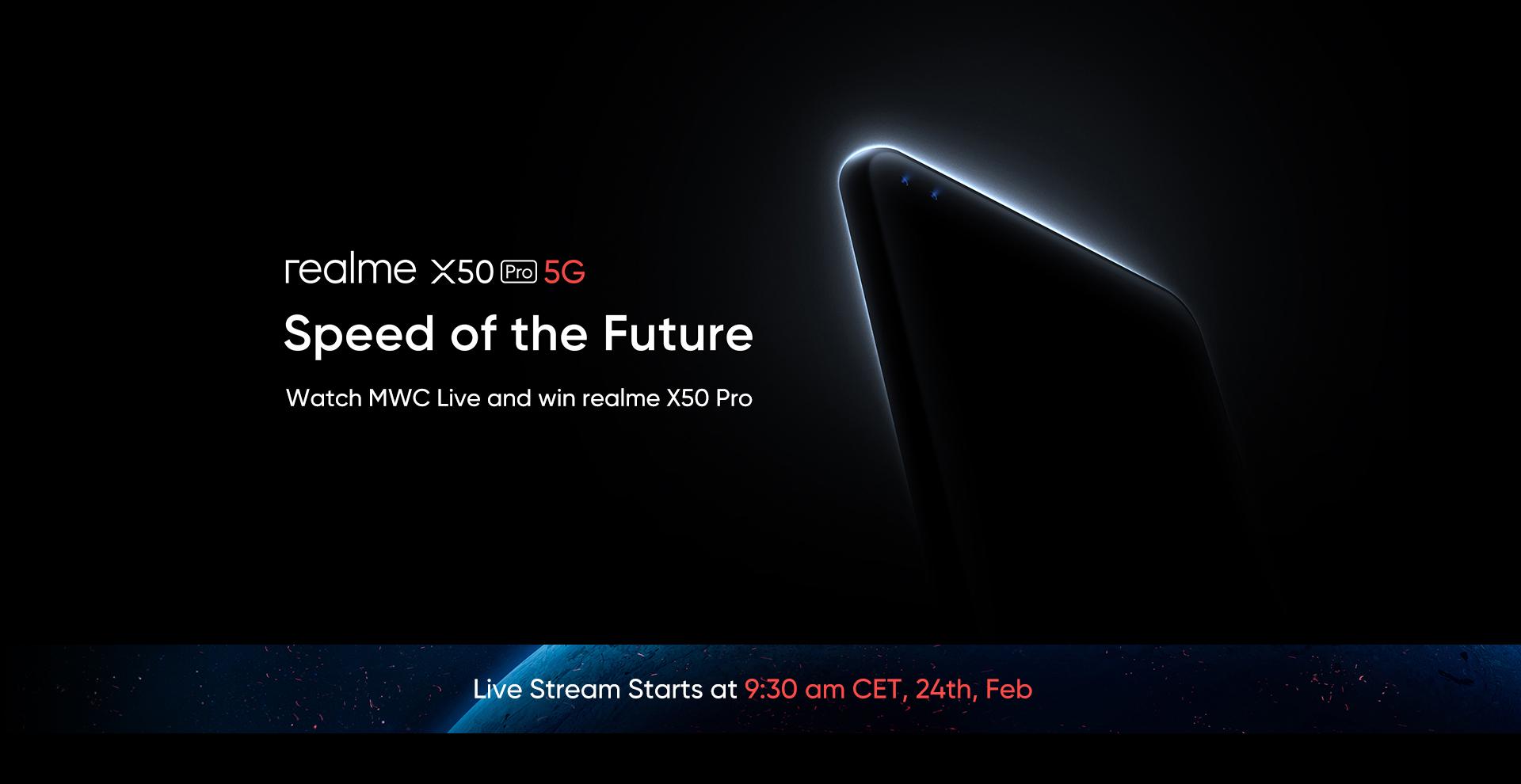 Realme X50 Pro 5G จะมีการชาร์จ