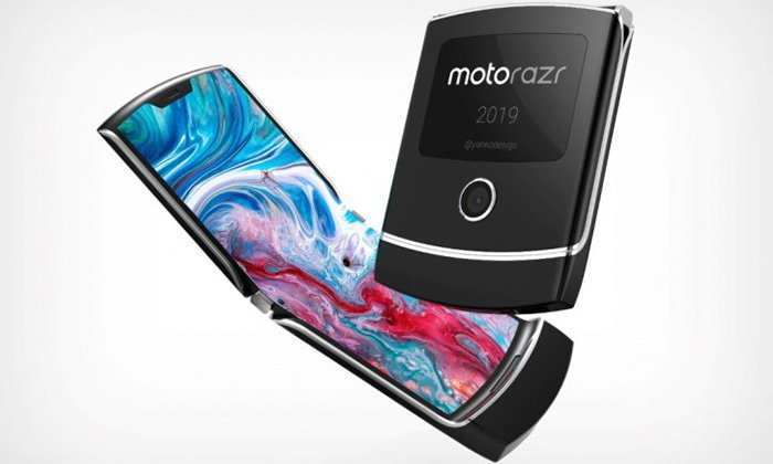 บานพับของ Motorola Razr