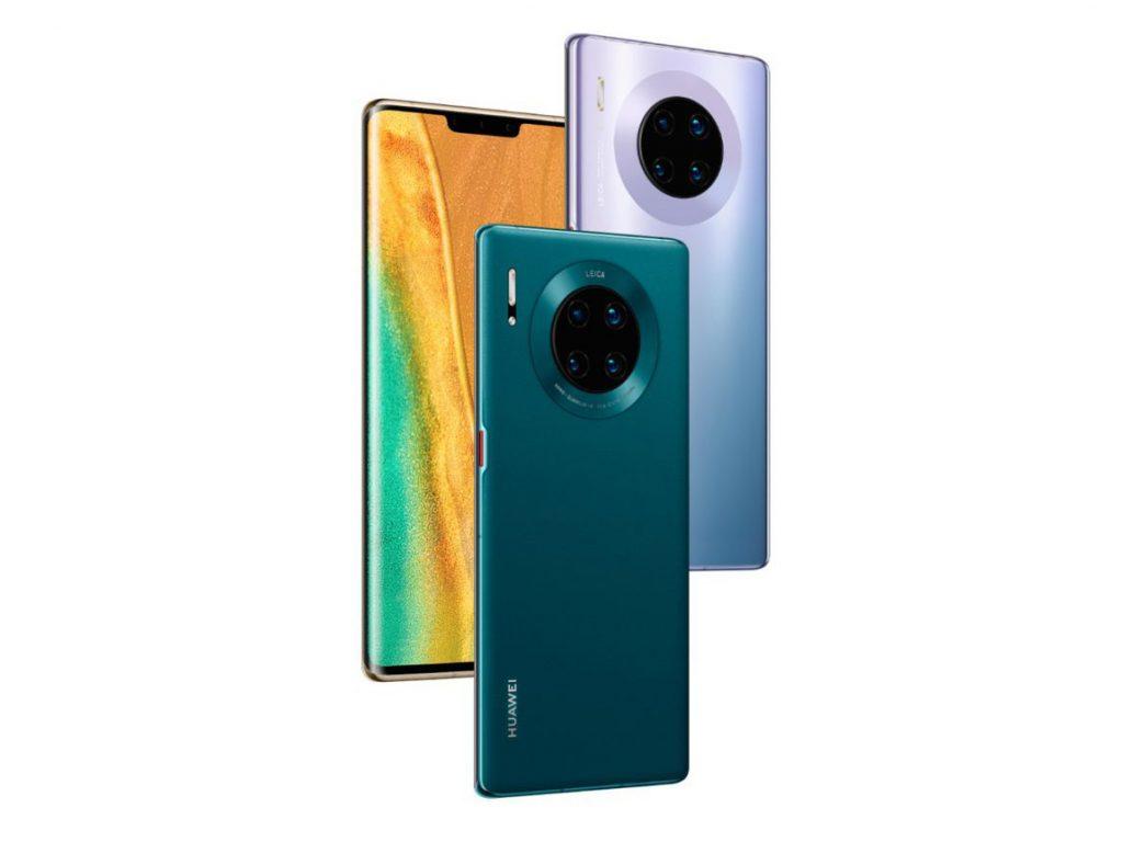 จอโค้งของ Huawei Mate 30 Pro