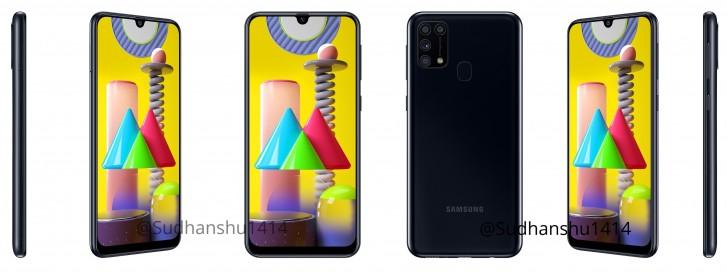รูปหลุดของ Samsung Galaxy M31