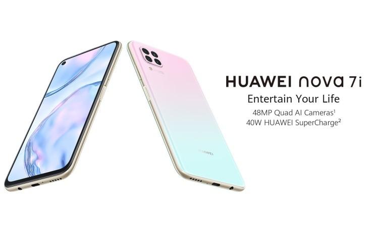 Huawei nova 7i เปิดตัวในมาเลเซีย