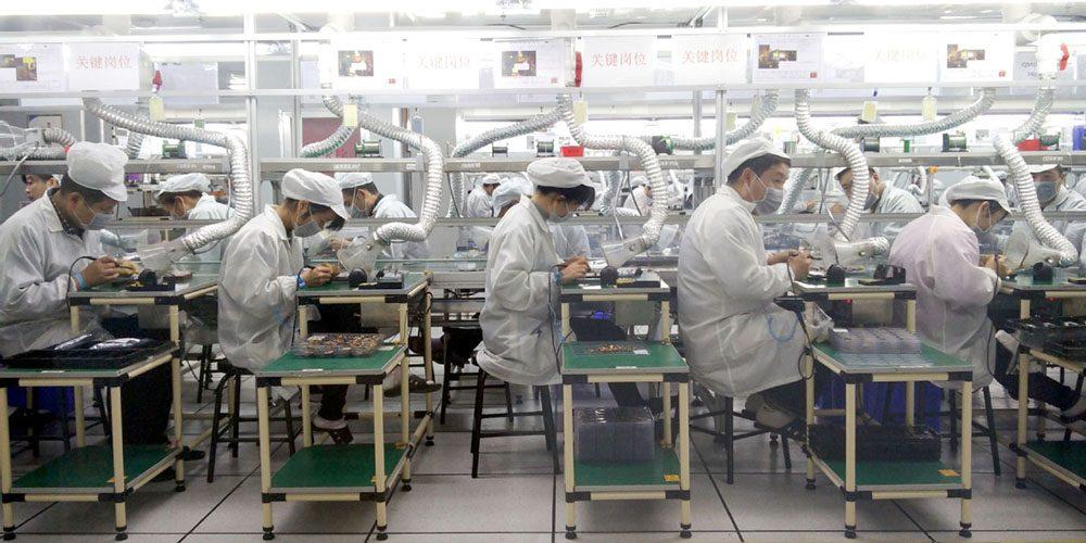 โรงงาน Foxconn กลับมาเริ่มทำงานอีกครั้ง