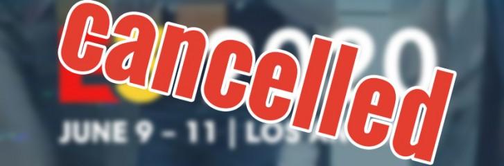 ESA ประกาศยกเลิกการจัดงานเกม