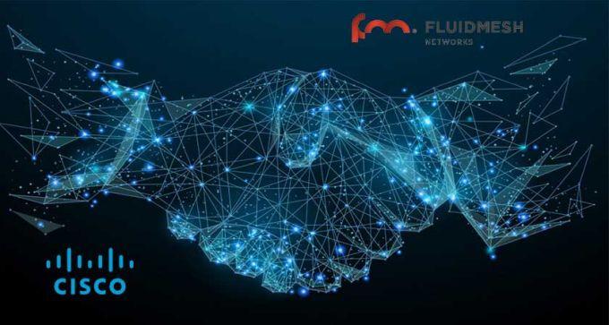 CISCO ได้ประกาศเข้าซื้อ Fluidmesh Networks