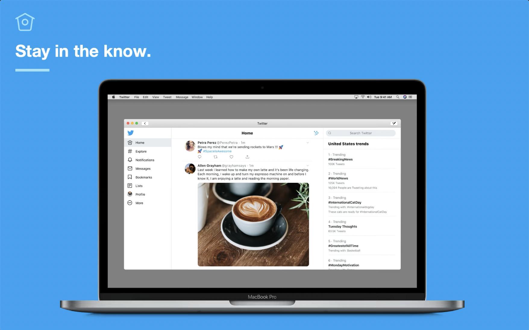 Twitter for Mac อัปเดตเวอร์ชันใหม่