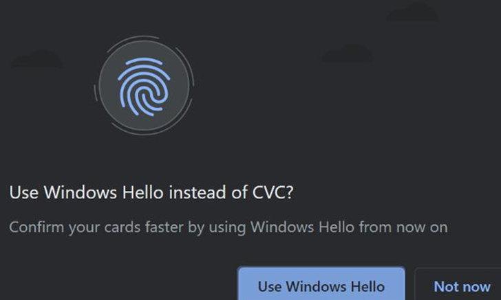 Google รองรับให้ Windows Hello
