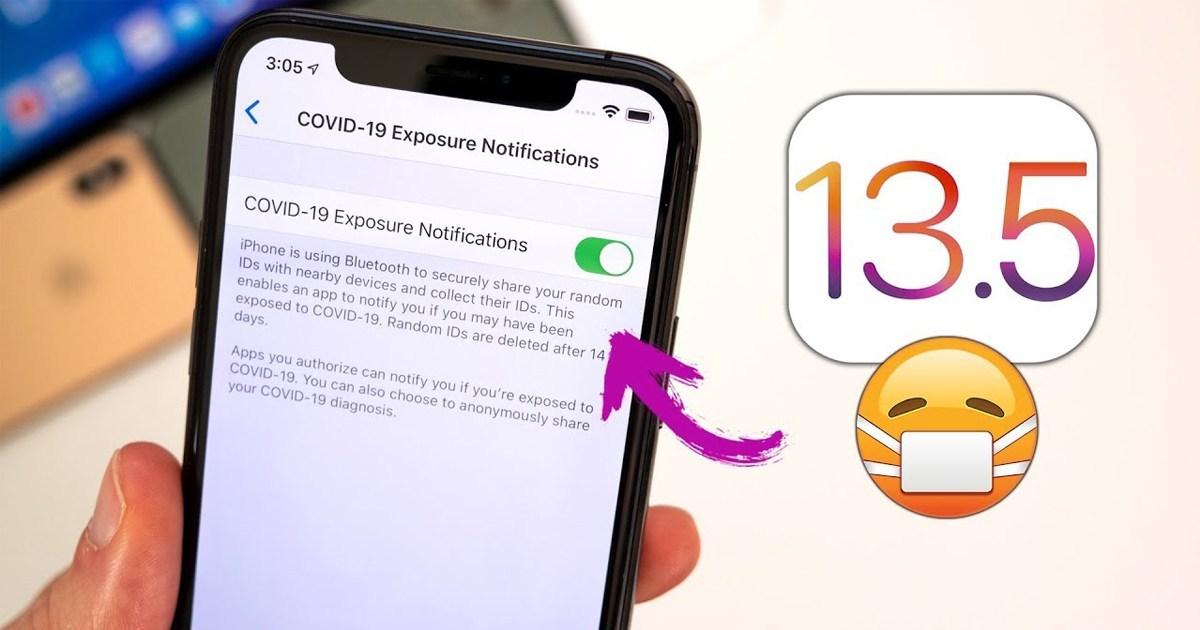 Apple ปล่อย iOS 13.5 (beta