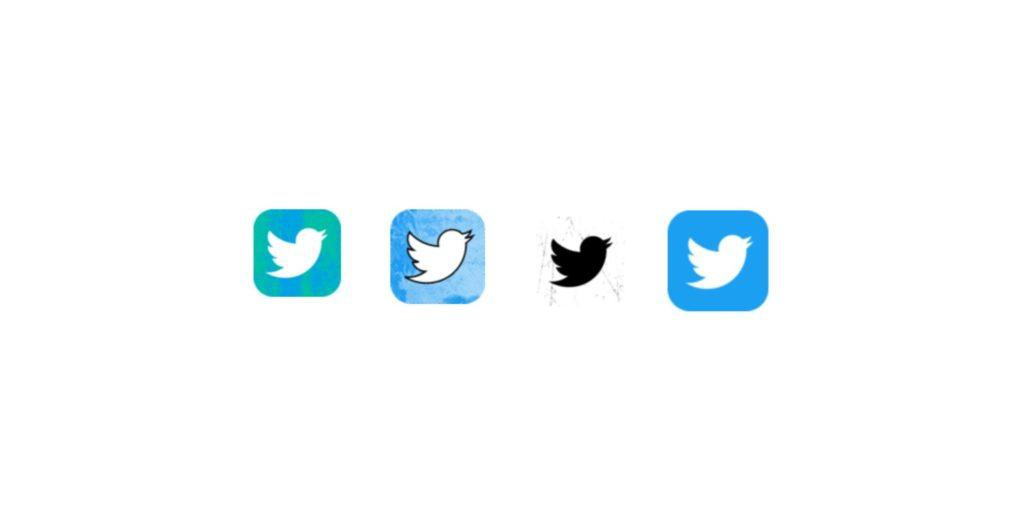 Twitter ทดลองเปลี่ยนไอคอน